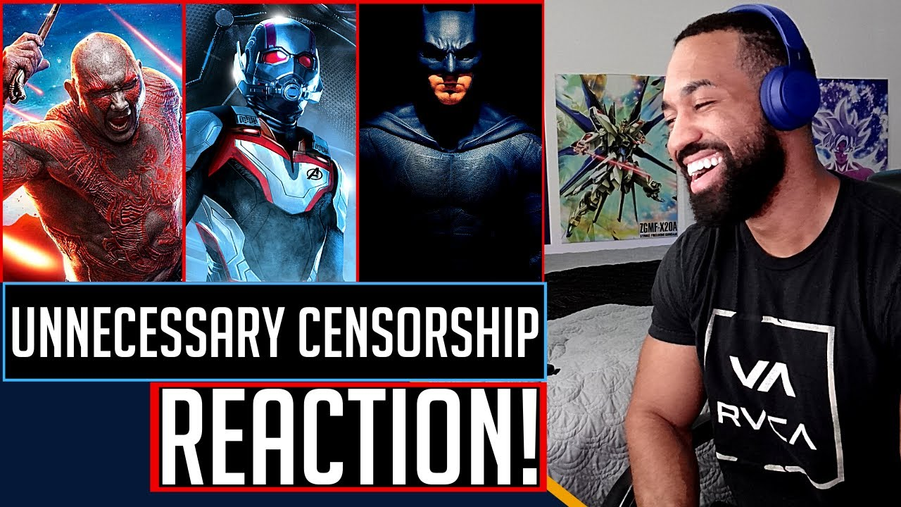 TRY NOT TO LAUGH - Unnecessary Censorship - Guardians of the Galaxy 2, Ant man and Justice League!