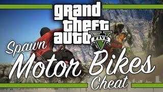 GTA V: All Spawn-able Motor Bikes Cheat Codes thumbnail
