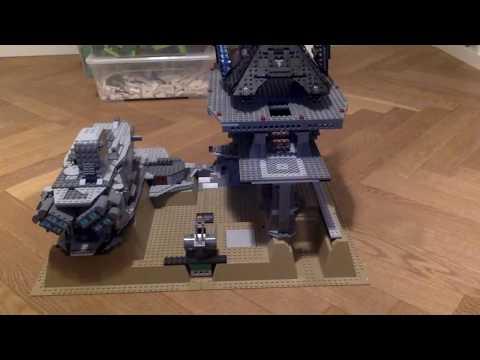 Lego Star wars Imperial Landing Pad MOC