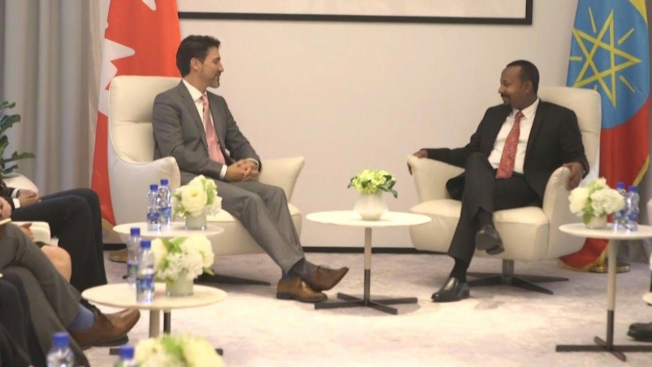 Canada's Justin Trudeau visits Ethiopia | AFP