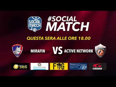 Calcio a 5, Serie B: Mirafin - Active Network, highlights e interviste