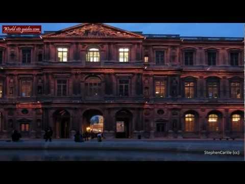Луврский дворец (Louvre palace) в Париже