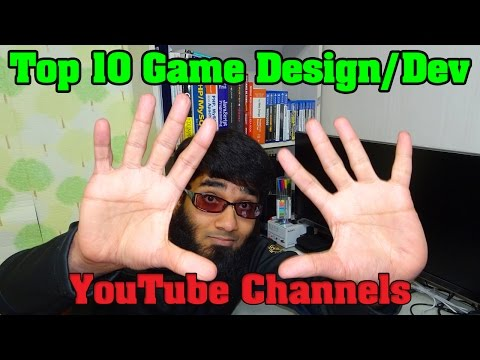 Top 10 Game Design/GameDev YouTube Channels