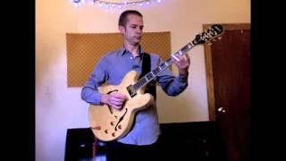 Epiphone Sheraton II slide guitar demo