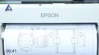 Epson SureColor SC-T3200: тест на скорость печати формата А1. Качество