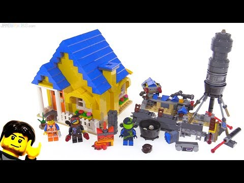 LEGO Movie 2 Emmet&39;s Dream House + Rescue Rocket 2-in-1 review 70831