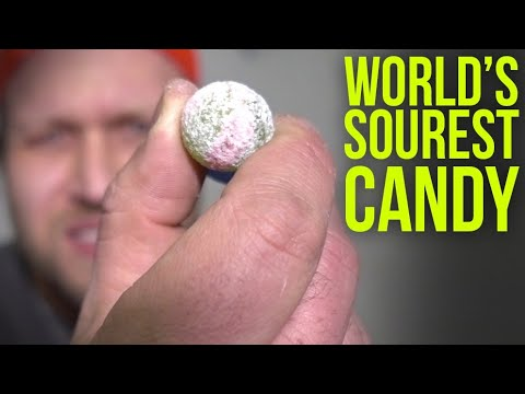 Trying The Worlds SOUREST Candy (10X MORE Sour Than Toxic Waste & Warhead Candy) Challenge