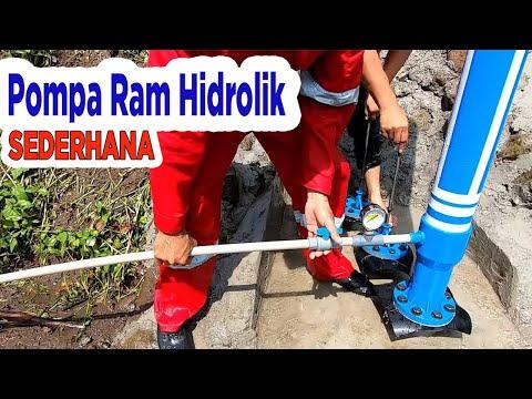 Membangun Pompa Air Tanpa Listrik (edisi 3), Membangun Pompa Hidram   Air Dapat Mengalir Sampai Jauh