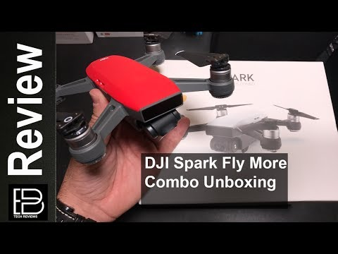 Happy Father's Day! DJI Spark Fly More Combo Kit Unboxing