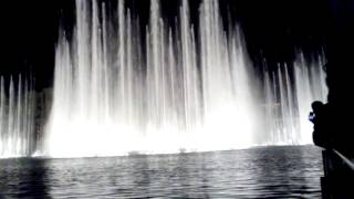 The Dubai Mall Fountain in Burj Khalifa Lake