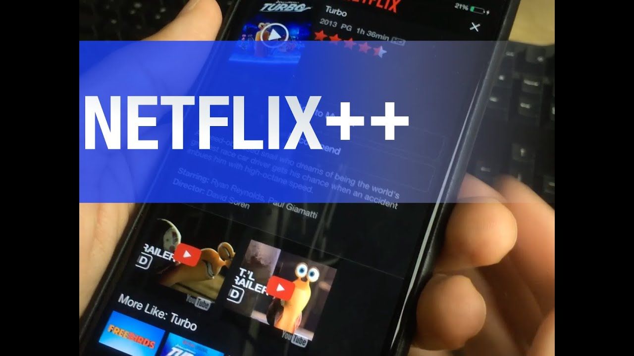 Netflix++ is a jailbreak tweak that adds trailers to the