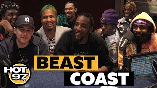 Beast Coast On Coming Together, Joey Bada$$ & 'Escape From New York' Project On Real Late