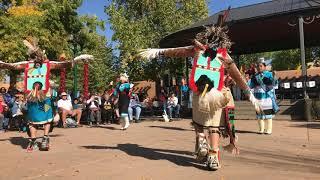Indigenous Peoples Day Celebration 2017 -  Zuni Pueblo - Soaring Eagle Dance Group Clip 7