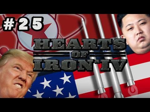 Trump vs North Korea - Hearts of Iron 4 [HOI4] - Kim Jong Un Conquest - #25