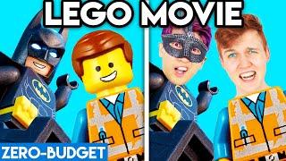THE LEGO MOVIE WITH ZERO BUDGET! (Lego Movie LANKYBOX PARODY)