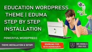 Best Education WordPress Theme Eduma | Full Tutorial Installation & Demo Content Setup Step by Step