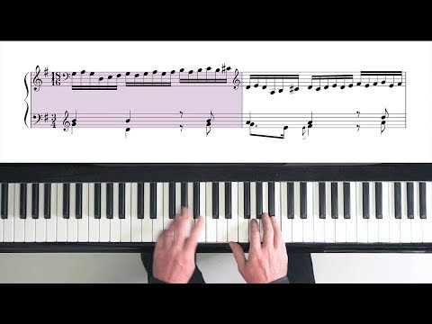 Bach Goldberg Variations (complete) with Harmonic Pedal - P.