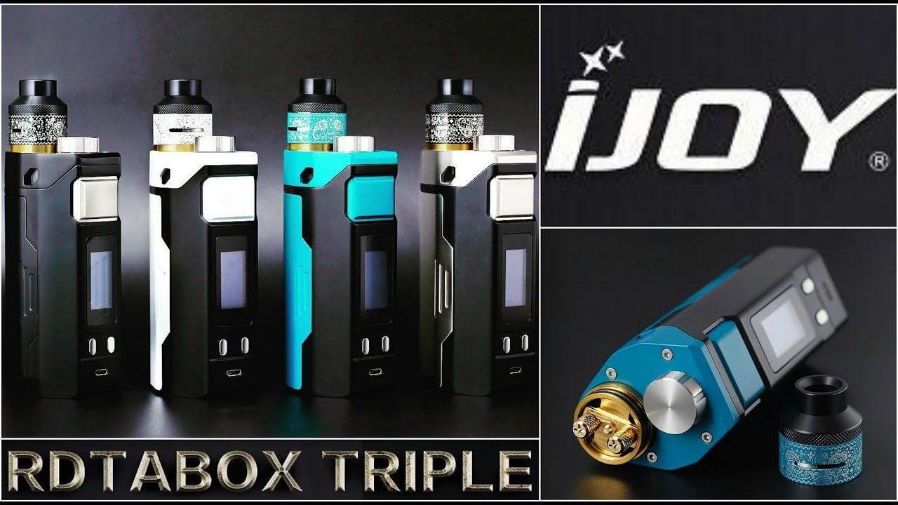Image result for ijoy rdta box triple kit