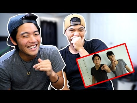 REAC(T)ING To OLD VIDEOS! (ft. RYAN HIGA)
