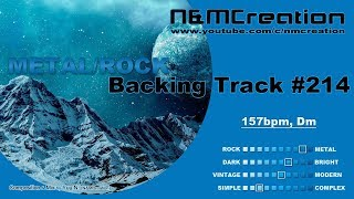 Gambar cover POWER METAL (European Style) Backing Track in Dm   BT-214