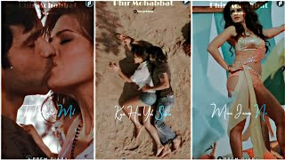 Phir Mohabbat Full Screen Status | Arijit Singh | Emraan Hashmi X Jacqueline Fernandez | Prem Diary
