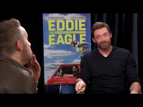 "Hugh Jackman says ""that's not a knife"""