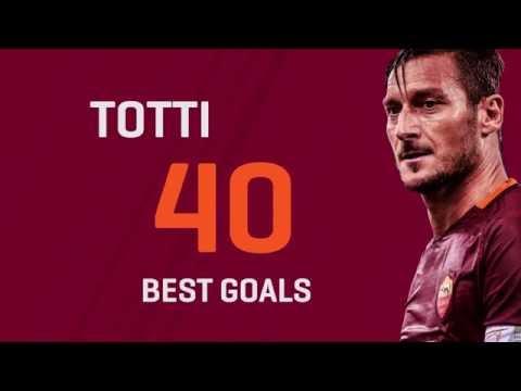 Il goal più bello dei 40 anni di Totti