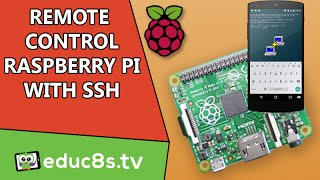 Raspberry Pi tutorial: Use SSH to in order to remote control your Raspberry Pi.