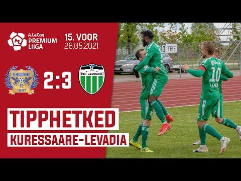 Kuressaare FC Levadia Tallinn Goals And Highlights