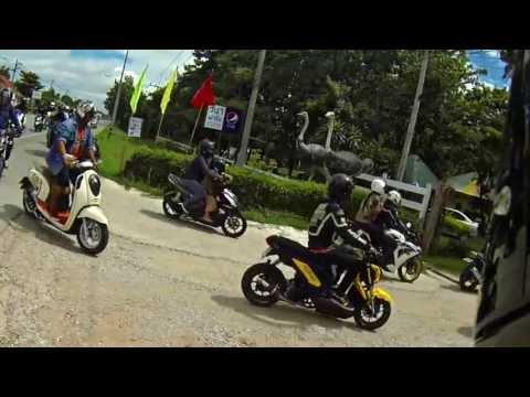 ZoomerX & MSX เชียงรายไปออกทริปกับ Honda Club สินธานี
