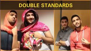 Zaid Ali funny video | Double standard | Zaid Ali and Shehveer jafry