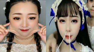 Crazy asian makeup transformation/asian makeup removing compilation instagram 2020