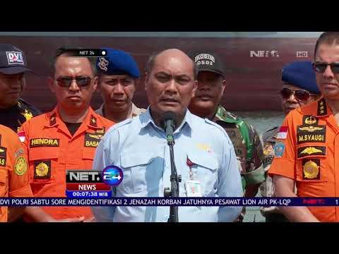 Basarnas Resmi Hentikan Seluruh Pencarian Korban Lion Air JT 610   NET24 Mp3