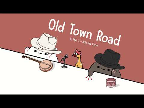 Bongo Cat - Old Town Road (Mr. Chicken)