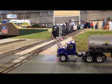 OKC Train Show 12/4/16 PC freight on OKC Free-mo