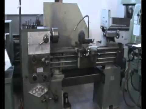 Tornio parallelo comm 180 youtube for Piccolo tornio per metalli usato