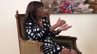 Conversa com a Dra Maria Luísa Abrantes, sobre situção de Angola, a...
