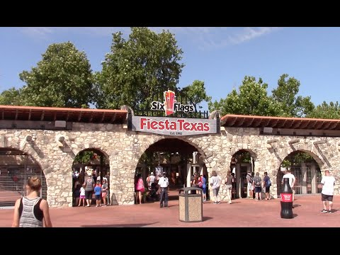 Six Flags Fiesta Texas Review San Antonio, Texas