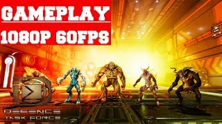 Defense Task Force Sci Fi Tower Defense Gameplay (PC)