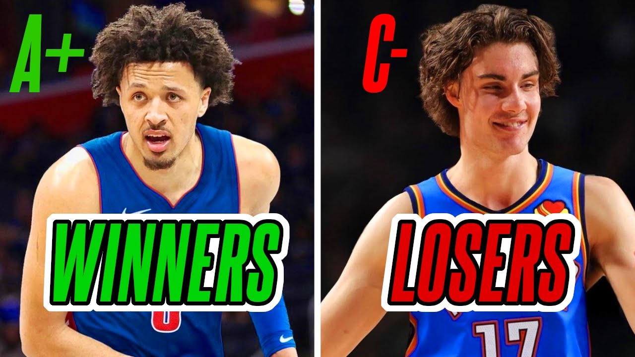 BIGGEST WINNERS AND LOSERS in the 2021 NBA Draft