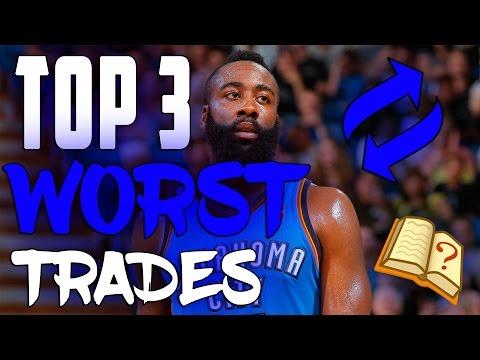 TOP 3 WORST NBA TRADES OF THE DECADE