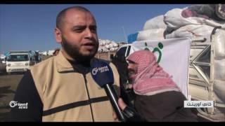 المنخفض الجوي بريف إدلب يزيد معاناة نازحو مخيم الزوف