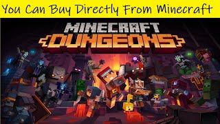 Minecraft Dungeons Microsoft Store Can Be Avoided