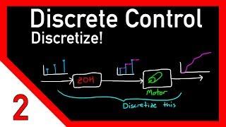 Discrete control #2: Discretize! Going from continuous to discrete domain