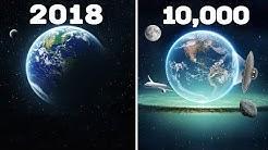 10,000 Jahre in die Zukunft in nur 10 Minuten!