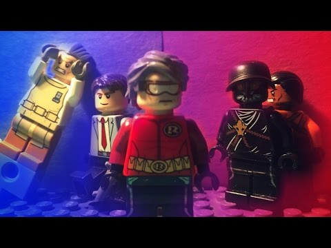 "Lego Jay Garrick Season 1 Episode 1 | ""Speed Demon"" (DCBU)"