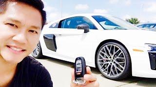 MY NEW 2017 AUDI R8 V10 PLUS SUPERCAR 610HP