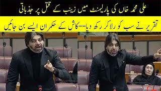 Ali Muhammad Khan Emotional Speech on Kasur Incident in Parliment Made Everyone Cry