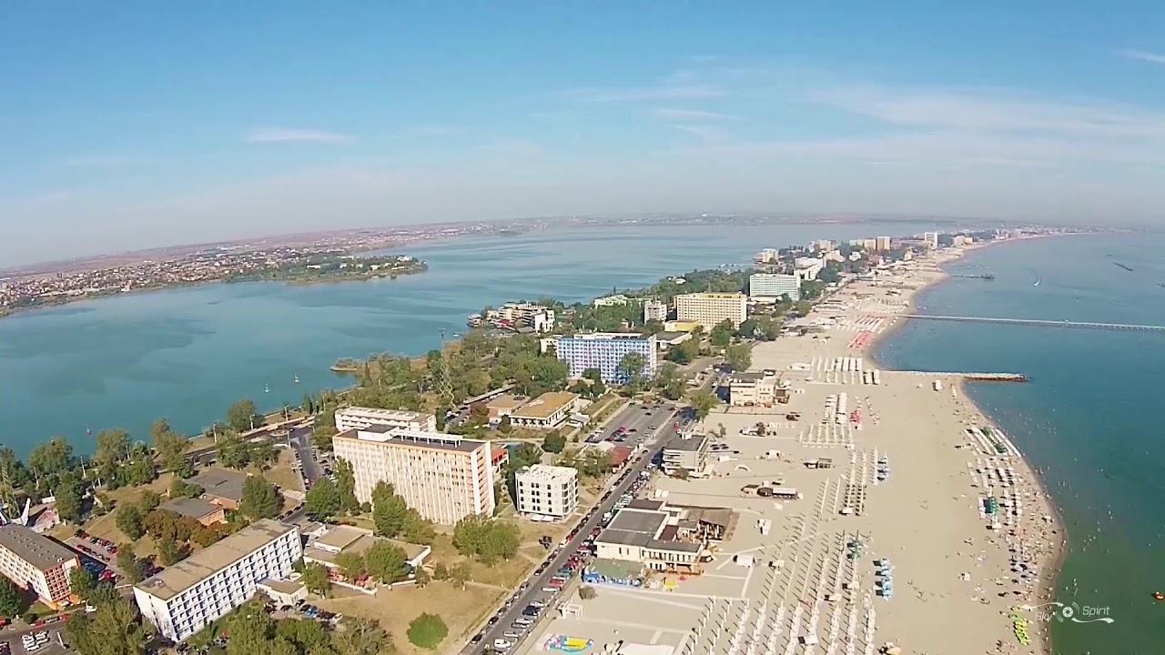 Staţiunea Mamaia . Mamaia Beach Romania. - YouTube