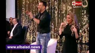 ماجد المصري يغني «الدنيا زي المرجيحة» مع رزان مغربي .. فيديو